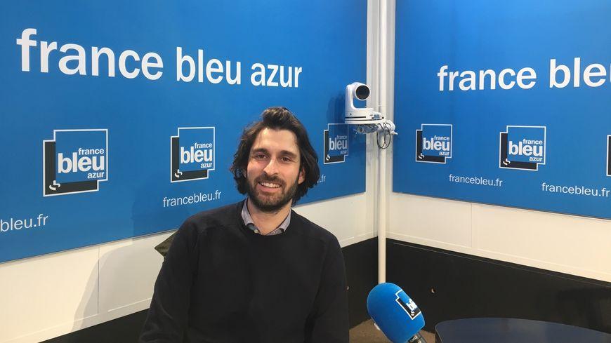 Rémi Méjias l'un des membre de l'appli   Smart Service Connect
