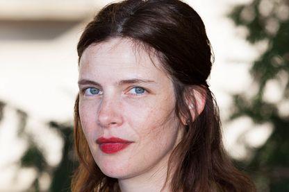 Judith Davis, actrice et réalisatrice, au Festiva, le 23 août 2018 à Angoulême.
