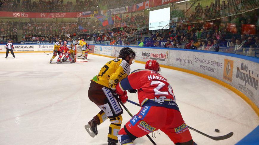 La finale de Ligue Magnus entre Grenoble et Rouen se dispute au meilleur des sept matchs