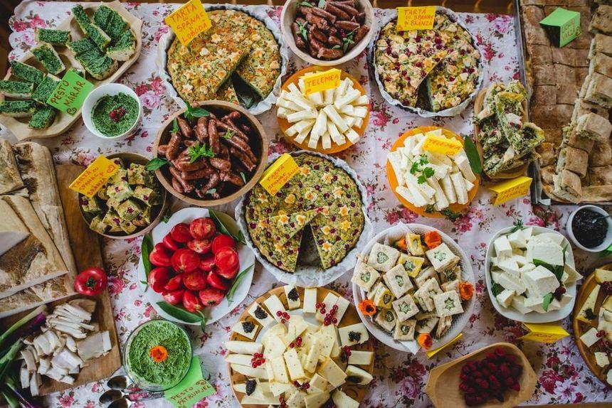La gastronomie  à Creutzwald pour la Fête de l'Europe