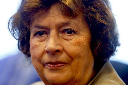 La journaliste et écrivaine, Michèle Cotta le 2 octobre 2014 à Paris.