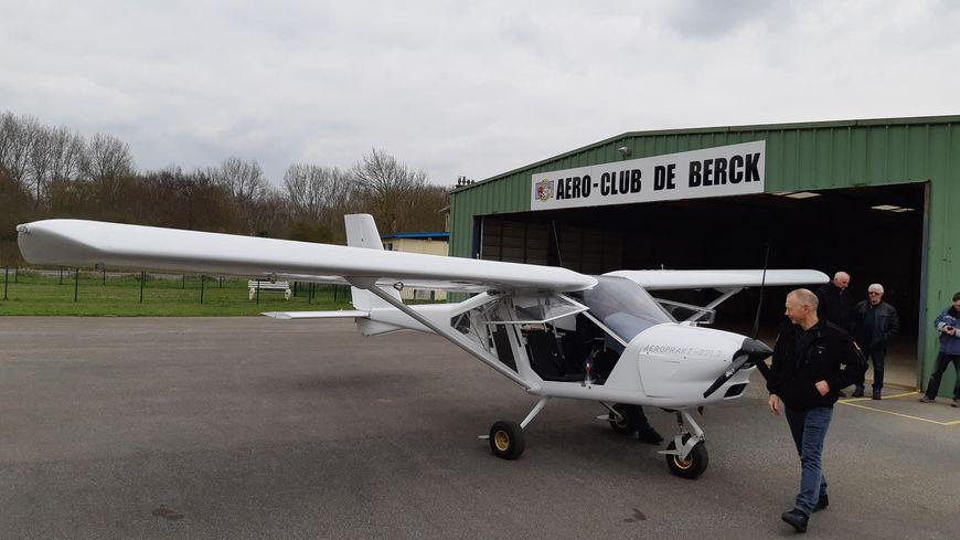 L'aéro-club de Berck a investi dans un Ulm adapté pour permettre à des personnes handicapées de voler.