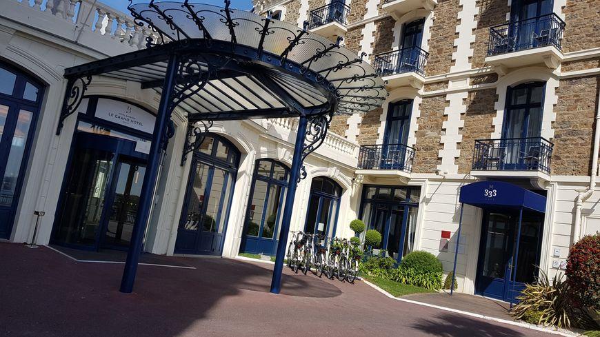 VIDÉO - Entrez dans le Grand Hôtel de Dinard entièrement rénové