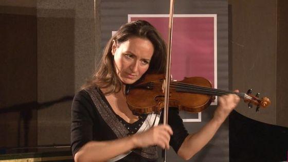 Geneviève Laurenceau, violon