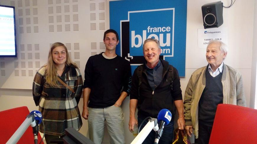 De gauche à droite : Virginie Legoff, Luc Launay, Patrick Raynaud et Maurice Bourel