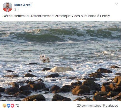 """Sur la page Facebook """"Cap Sizun"""
