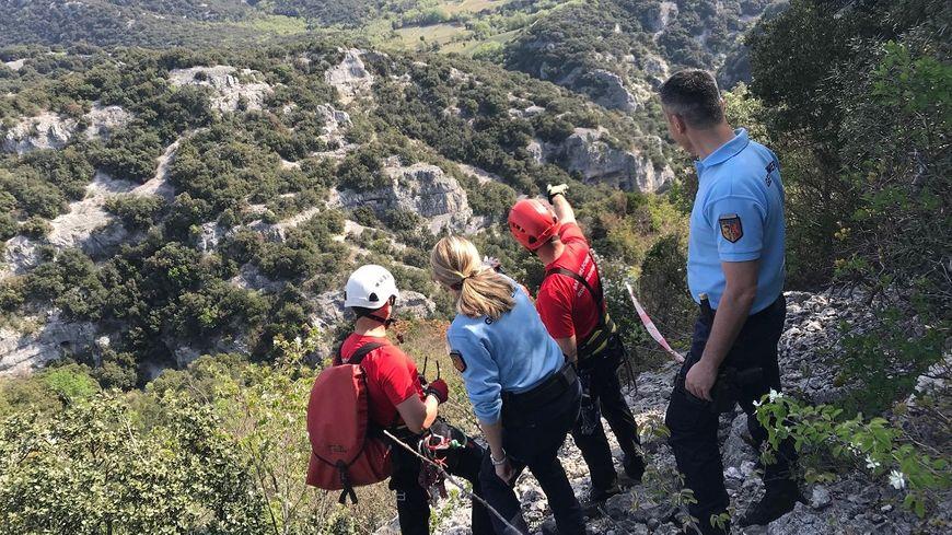 Gendarmes et pompiers sont intervenus ensemble ce jeudi matin