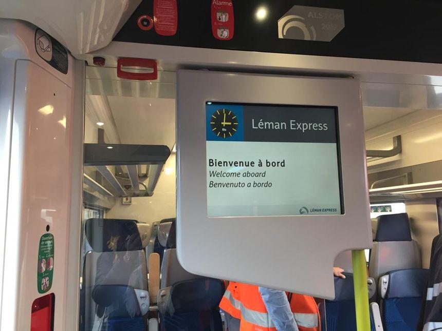 Bienvenue à bord du Léman Express