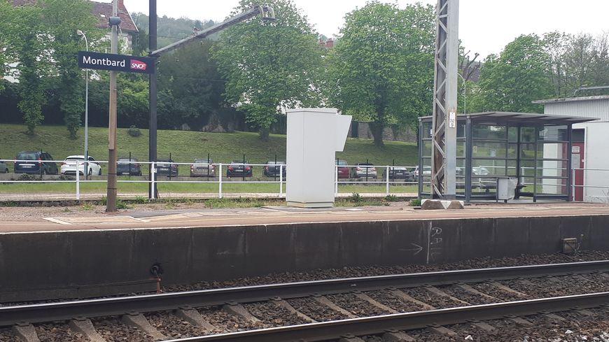 La gare de Montbard