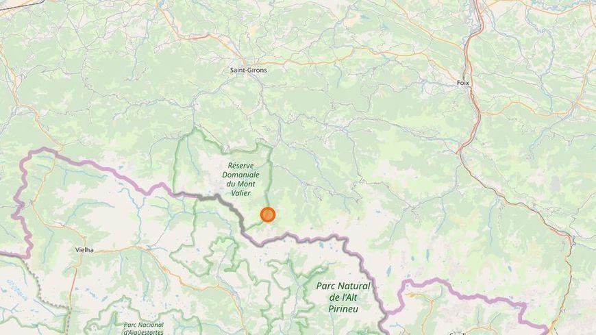 La mine de Salau se situe dans le sud de l'Ariège