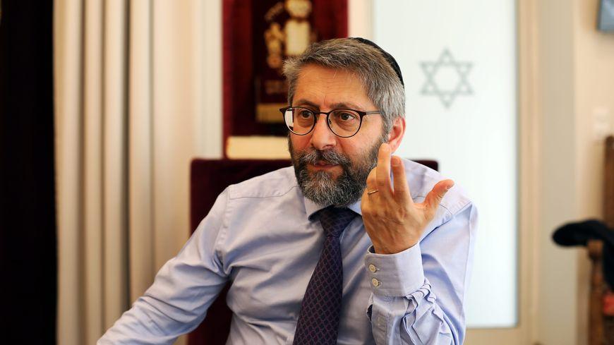 Haïm Korsia, le grand rabbin de France, est attendu vendredi 3 mai 2019, à 18h, en la synagogue de Belfort