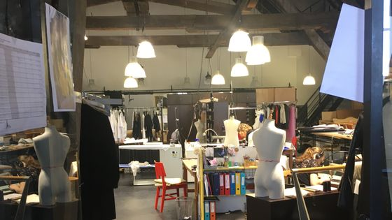 Atelier costumes de l'Opéra de Bordeaux.