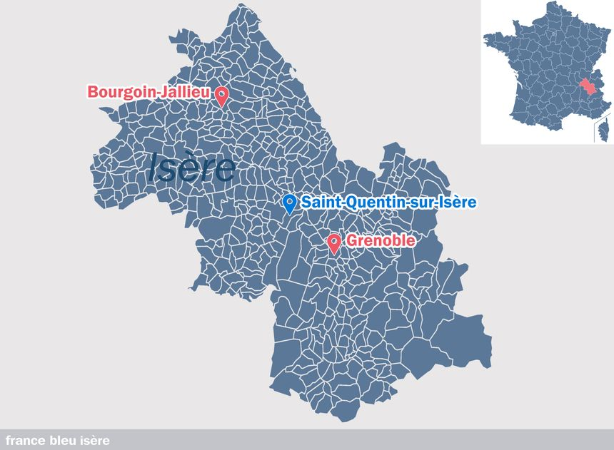 Saint-Quentin-sur-Isère, en Isère