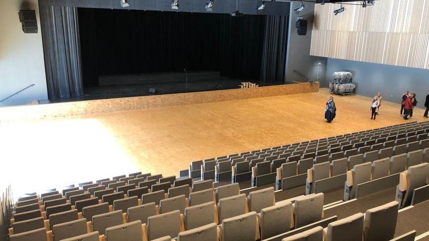 La salle de spectacles du Parc St Fiacre à Château-Gontier-sur-Mayenne