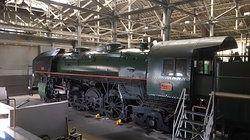 Musée du chemin de fer locomotive