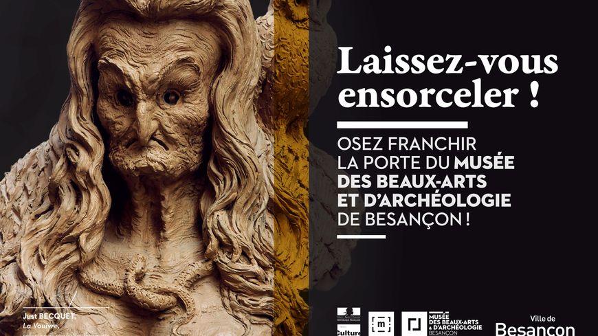 L'une des affiches de la nouvelle campagne de communication du MBAA de Besançon