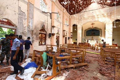 Multiples explosions au Sri-Lanka