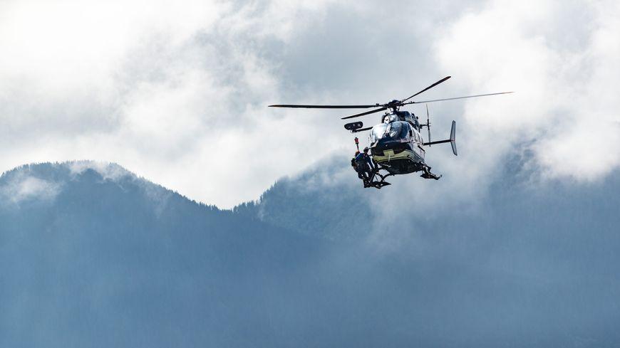 Un hélicoptère du PGHM en intervention (illustration)