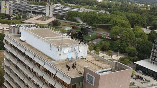 Des hélicoptères vont survoler le Grand Nancy cette semaine pour des exercices