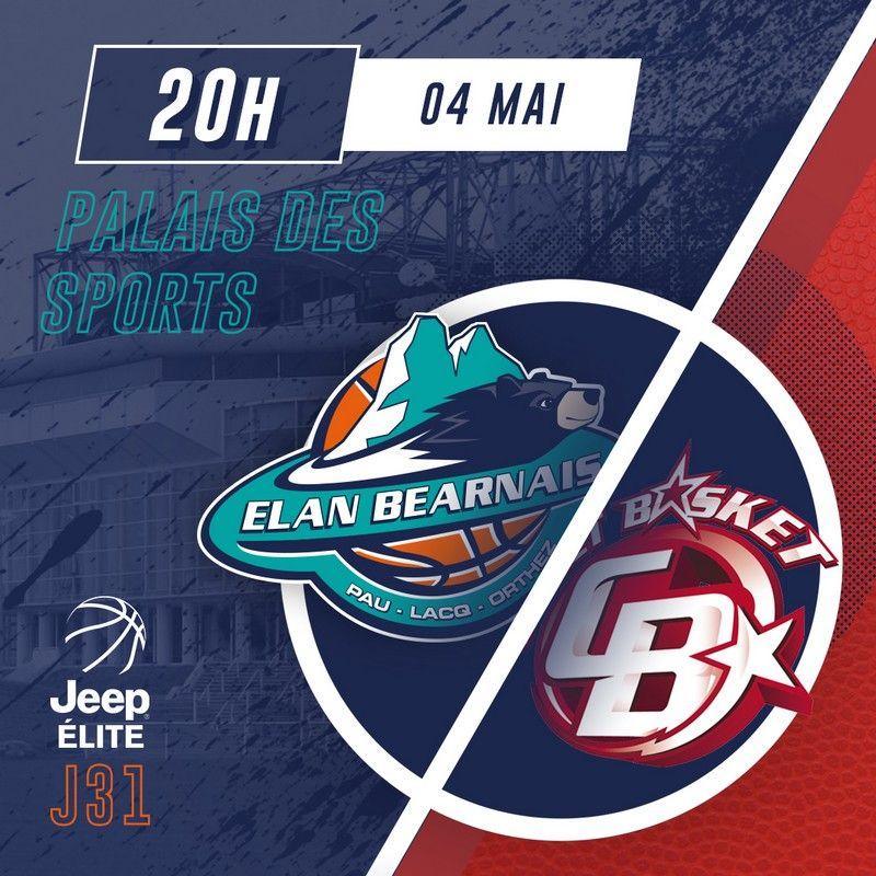 Match Elan / Cholet du 4 mai 2019