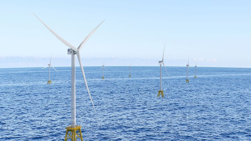 l'Haliade X, la plus grande éolienne au monde sera construite à Cherbourg.