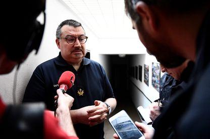 Jean-Marc Fournier, aumônier de la Brigade des sapeurs-pompiers de Paris