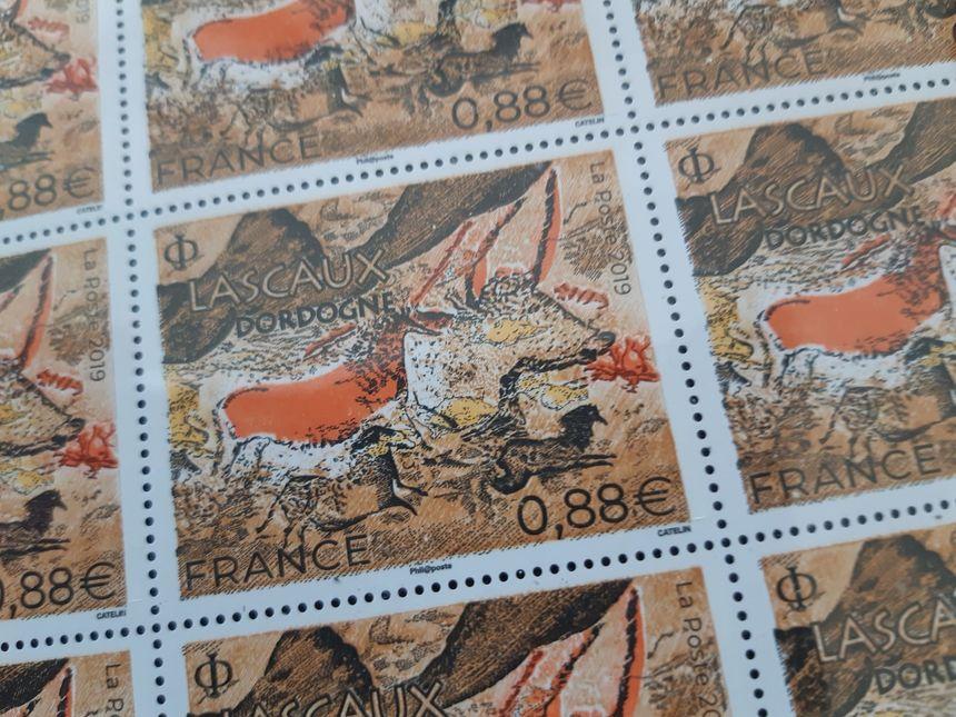Le nouveau timbre dédié à Lascaux
