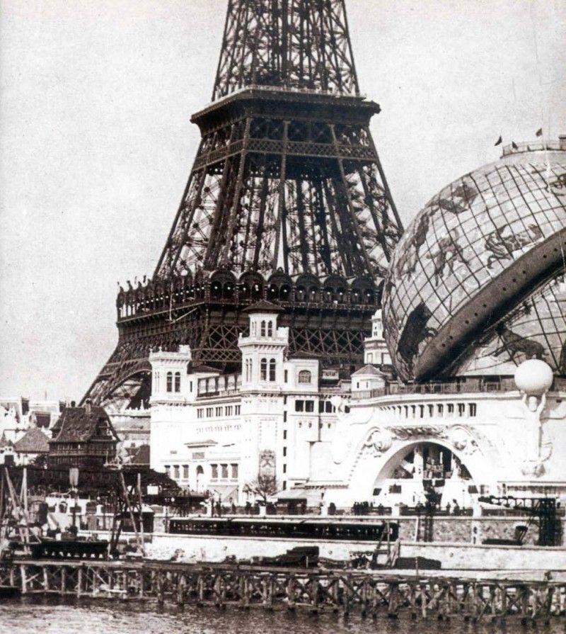Globe Céleste, Paris - 1900