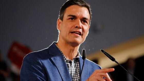 Pedro Sánchez, Président du gouvernement d'Espagne