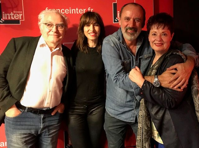 De g. à d. : Albert Algoud, Candice Mahout, Daniel Morin, Fabienne Thibeault