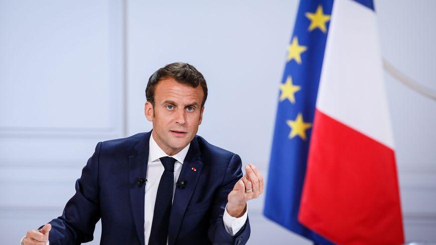 Conférence de presse du président de la République Emmanuel Macron