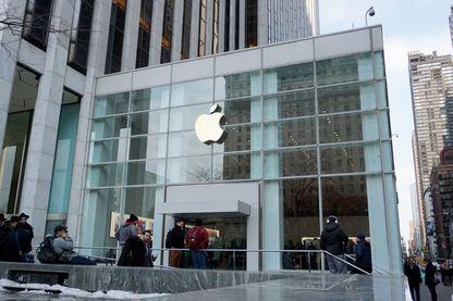 Un Apple Store, à New York