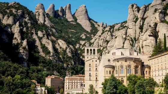 Abbaye et Monastère de Montserrat (Catalogne, Espagne)
