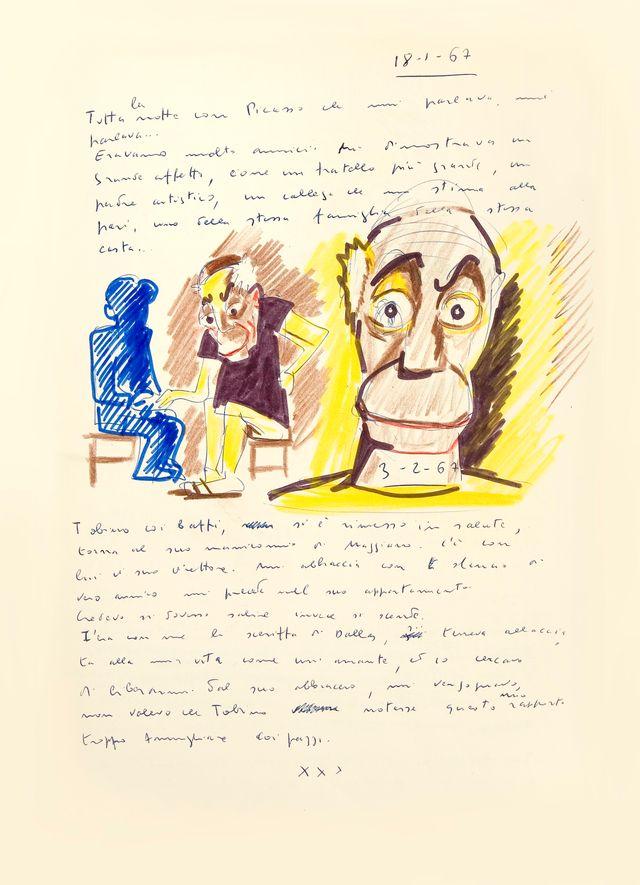Federico Fellini. Rêve du 18 janvier 1967. Le Livre de mes rêves, volume I