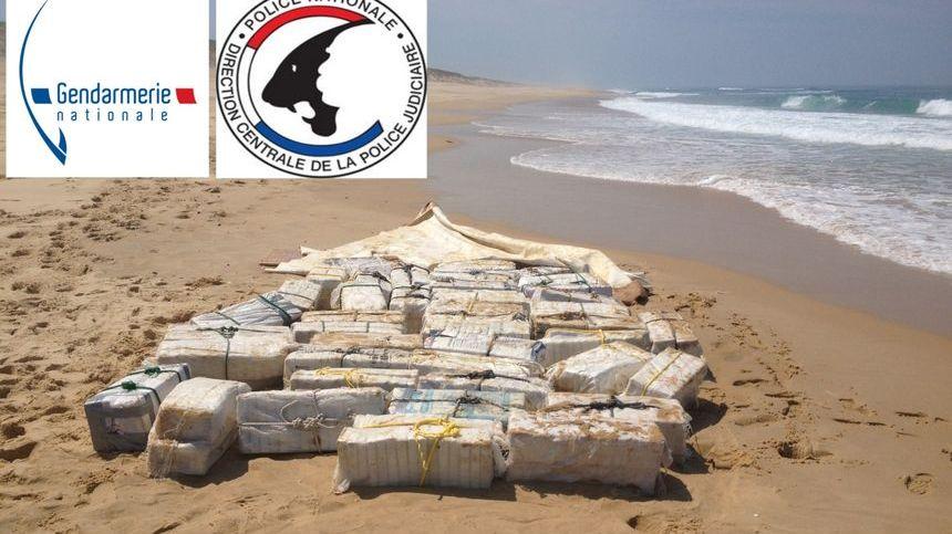 Le 20 juin 2017, plus d'une tonne et demie de cocaïne avait été retrouvée sur la plage de Mimizan