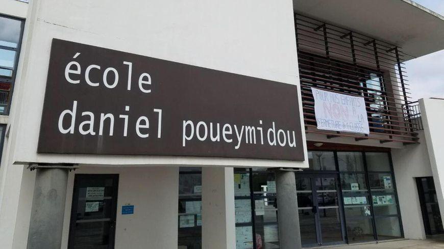 L'école Daniel Poueymidou accueille aujourd'hui 155 élèves, du CP au CM2.