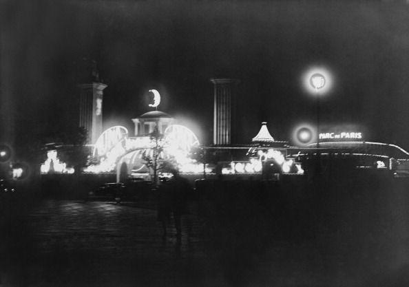 Luna Park de nuit