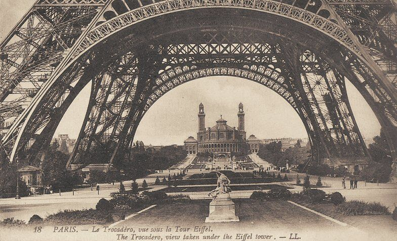 L'ancien Palais du Trocadéro à Paris