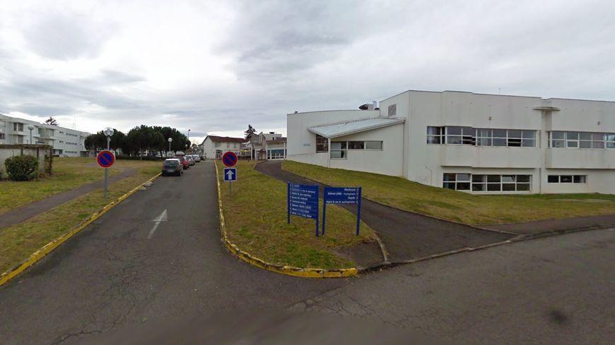 Le site du Lanot de l'hôpital de Dax, illustration. - Google Street View