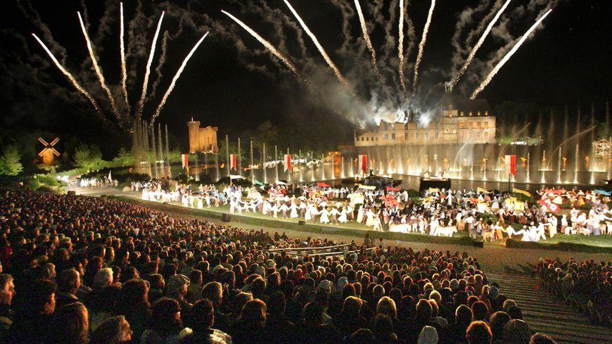 La Cinéscenie du Puy du Fou en 2008 pour les 30 ans du spectacle.