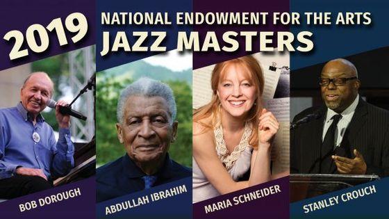 2019 NEA Jazz Masters Bob Dorough, Abdullah Ibrahim, Maria Schneider, & Stanley Crouch