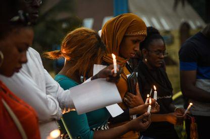 Prière silencieuse à Bamako en hommage aux victimes du massacre d'Ogossagou dans le cercle de Bankass qui a fait pres de 160 morts