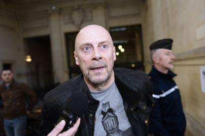 Alain Soral lors d'un précédent procès en mars 2015 à Paris.