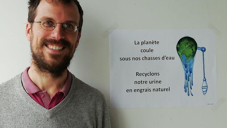 Fabien Esculier chercheur au laboratoire LEESU de l'Ecole des Ponts ParisTech responsable du programme de recherche action OCAPI