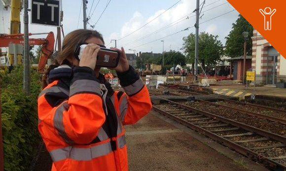 Visites virtuelles de chantiers.