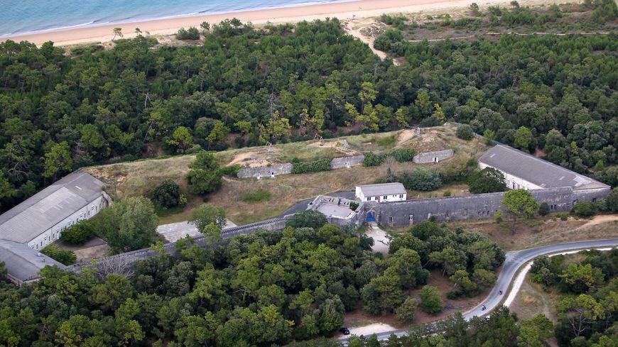 Le Fort des Saumonards, sur l'île d'Oléron