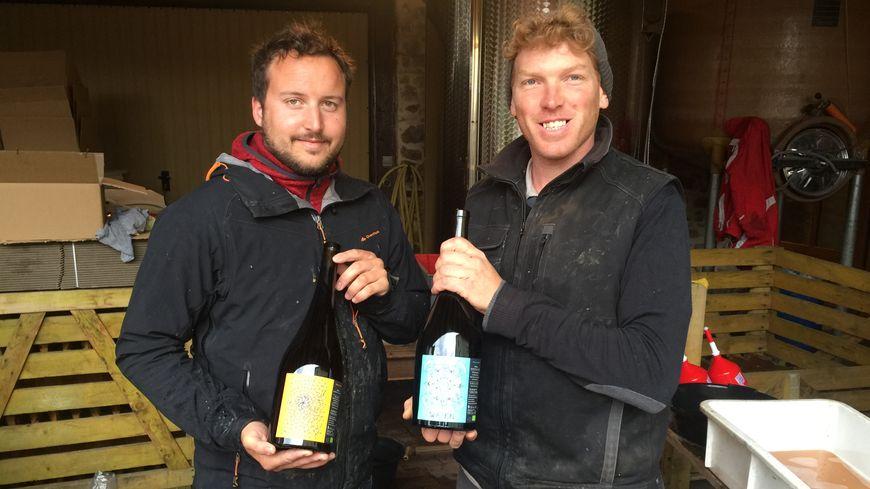 Jérôme François et Yann Bury sont à la tête de la grange de l'oncle Charles à Ostheim