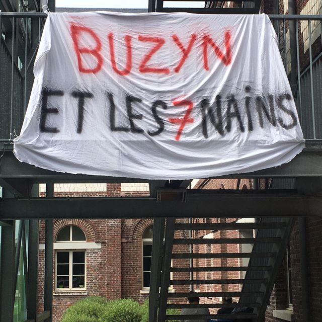 Grève à l'hôpital du Rouvray, Haute Normandie, juin 2018.