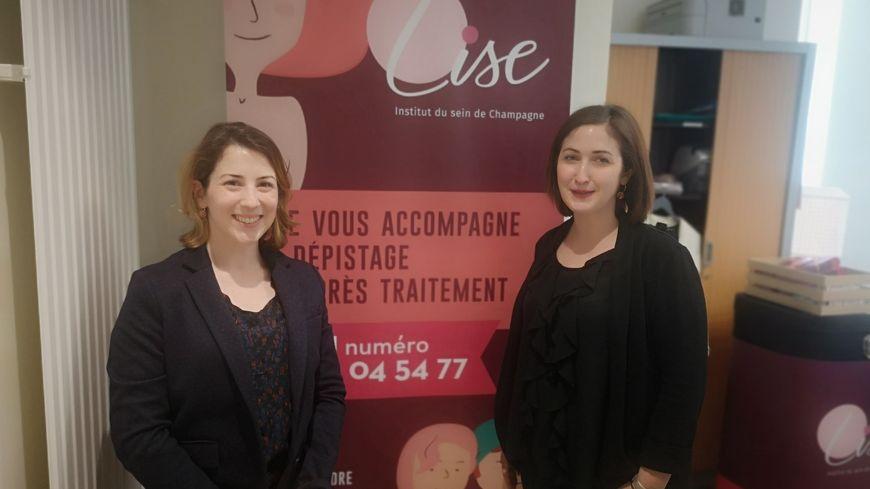 Marjolaine De Villepin et Laurie Laime, les deux coordinatrices.