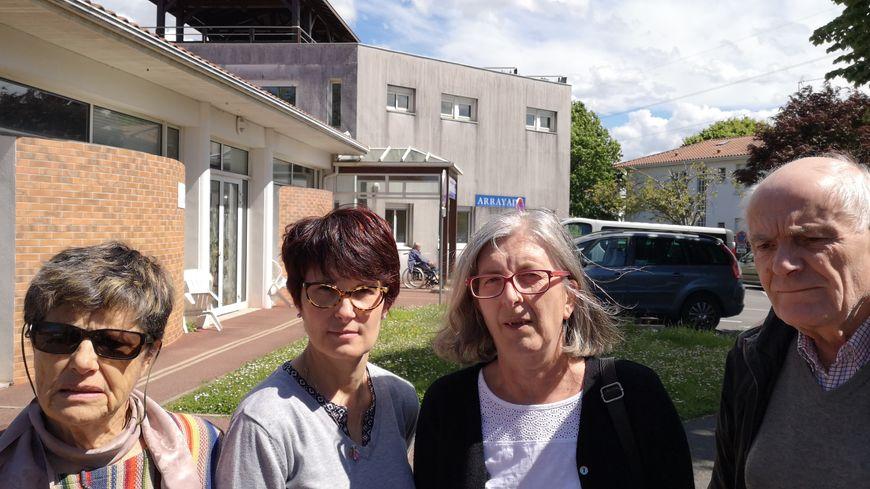 Les parents de pensionnaires de l'unité longue durée de l'Arrayade